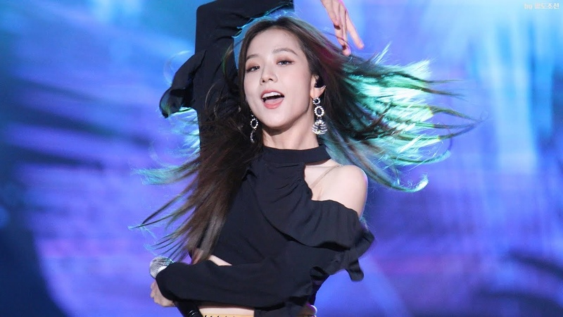 BLACKPINK - Forever Young (Jisoo's fancam @BBQ 14.10.2018)