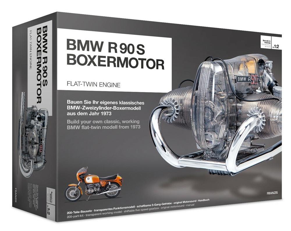 Комплект двигателя BMW R90S в масштабе 1:2