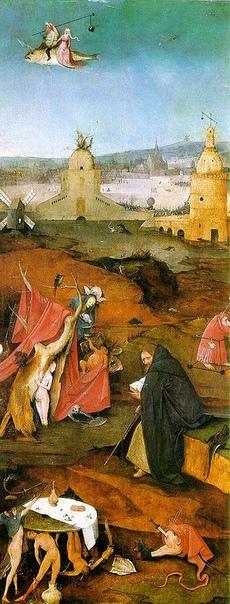 История одного шедевра. Триптих «Искушение святого Антония», Иероним Босх