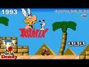 Астерикс Dendy Полное прохождение Asterix NES Gameplay Walkthrough Видеоигра Денди 1993 NINTENDO