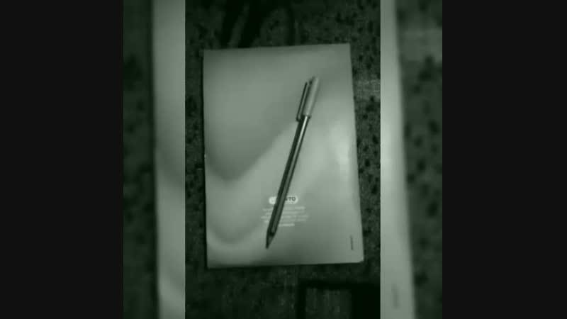 Простая ручка с простым листом😇
