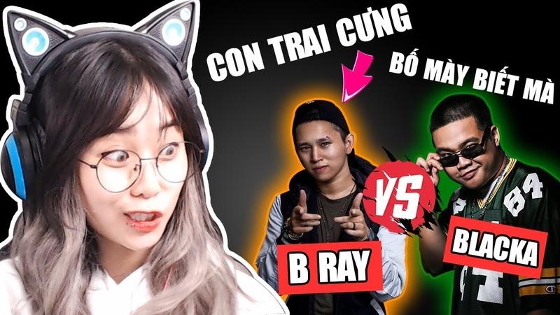 Misthy hóng hớt kèo gắt B RAY vs BLACKA || REACTION CON TRAI CƯNG || REACTION BỐ MÀY BIẾT MÀ
