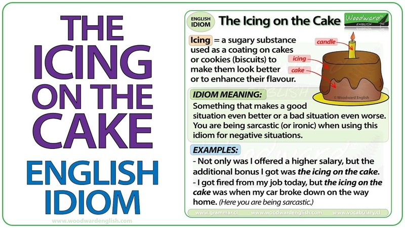 The Icing on the Cake - English Idiom Meaning
