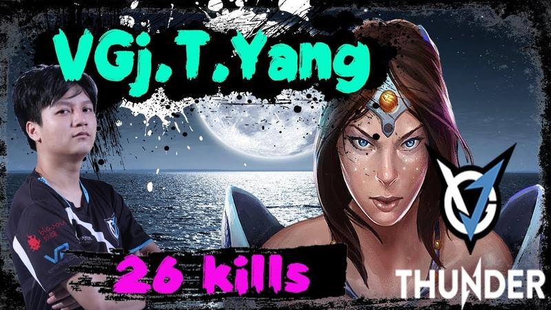 VGj.Thunder Yang - Mirana against Fnatic Universe - Weaver   7000 MMR Gameplay Dota 2