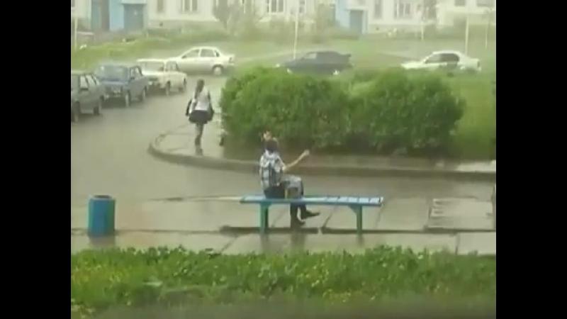 Когда наконец-то дождался теплый летний дождик (VIDEO ВАРЕНЬЕ)