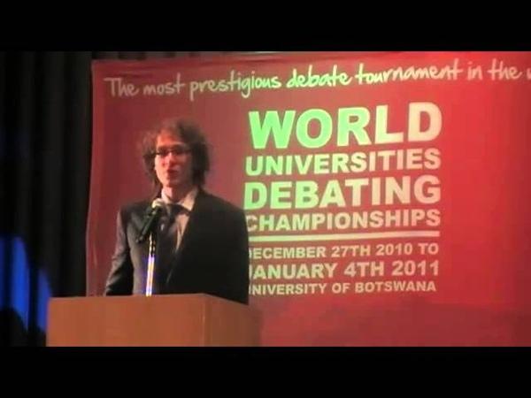 Образцовая речь премьер-министра в парламентских дебатах