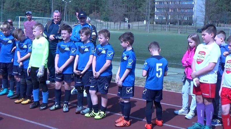 Daugavpils Cup - 2018. 15.04.2018. Узнагароджанне каманды 2007-08 г.н.