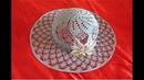 Pălărie elegantă de vară, croșetată / PARTEA I ( SUBTITLE ENGLISH SYMBOLS )