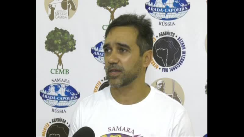 Видеорепортаж Телеканал Самара Гис Церемония вручения поясов Abadá Capoeira Samara