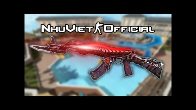CF OFFLINE 2016 」AK47-Knife Born Beast quẩy zombie