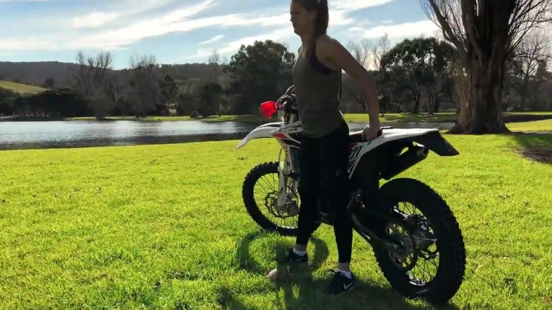 Ina Halls doing things right, being... - TimColemanX.com Off-Road clinics Stunt Shows