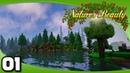 Nature's Beauty - Ep. 1: It's Finally Here! | Vanilla Minecraft Modded Survival