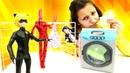 Çizgi film oyuncakları Karakedi Ladybug gerçek kimliğini araştırıyor