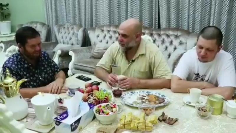 Орхан в гостях у Шангареева