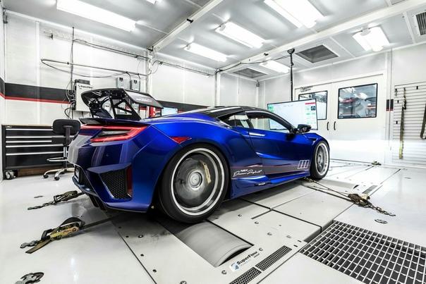 Очень редкие : Acura NSX Dream Project в исполнении Science Of Speed