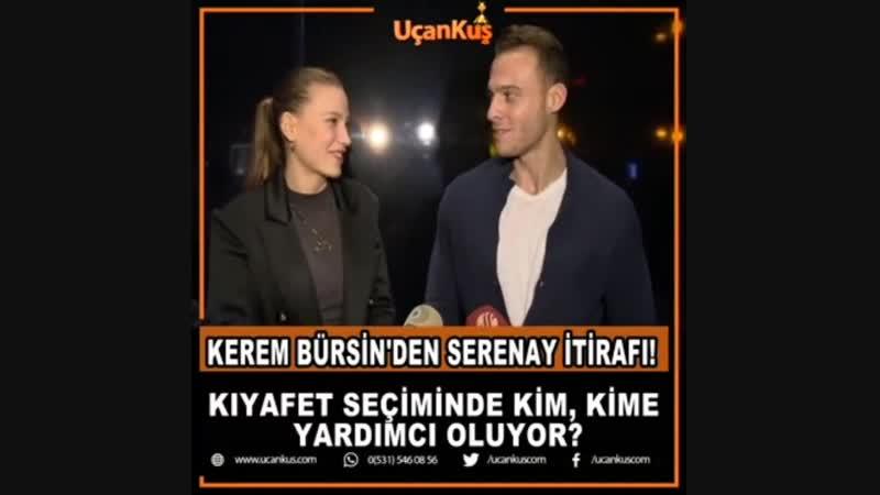 KEREM BÜRSİN'DEN SERENAY İTİRAFI!