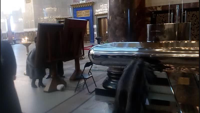 Уже можно набирать святую воду в Морском соборе
