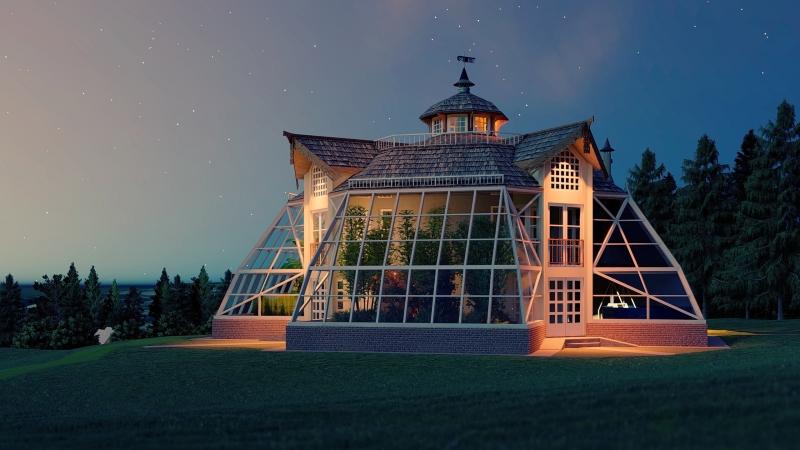 Купольный Дом Вегетарий. Способ изменить мир к лучшему!