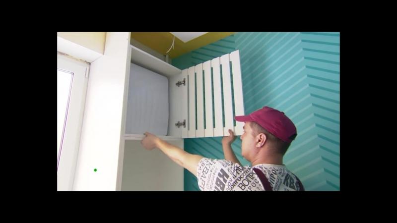 Установка проветривателя Tion 3S в детской комнате