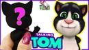 МАЛЕНЬКИЙ ГОВОРЯЩИЙ КОТ ТОМ ❤️ КУКЛА ООАК часть 1 / My Talking Tom Muza Rukodeliya 🌺