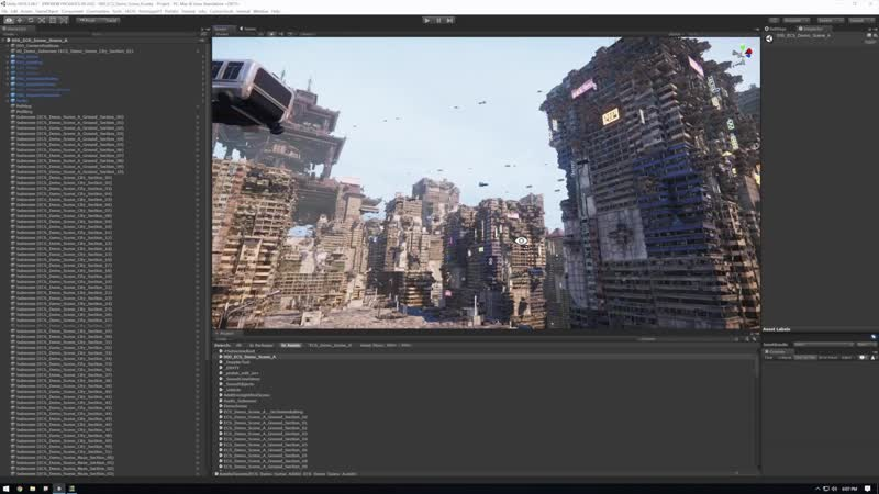 Create massive game worlds with Unitys Entity Component System