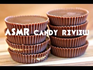 ASMR Crinkle Chocolate Candy Review (Ukraine Candy)/�������
