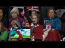 Marianne St Gelais watches boyfriend Charles Hamelin win gold
