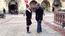 Balboa under the Glockenspiel in Munich Germany