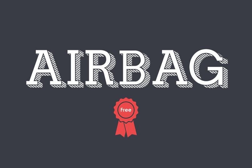Download Airbag-Regular font (typeface)