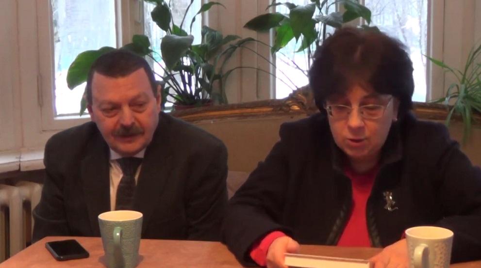 """Оксана Киянская и Давид Фельдман """"Словесность на допросе"""" (видео)"""