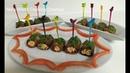 Rolled Eggplant Salad - Լցոնած Սմբուկով Աղցան - Рулетики из баклажанов - smbukov axcan