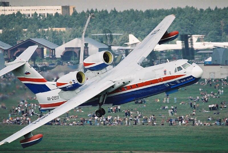 Самолёт-амфибия Бе-200 отправляется в «серийный полет»