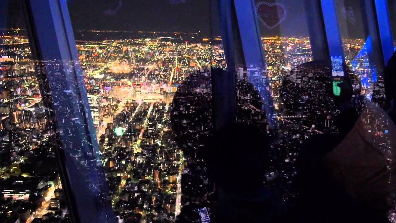 夜景 FHD 東京スカイツリー TOKYO SKYTREE 天望デッキ&天望回廊 GH3