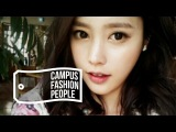 CAMPUS FASHION PEOPLE 04. KOREA UNIV. GAM DA-IN(DA-IN'S 3 WHITE LOOKS