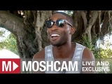 Tinie Tempah talks tearful fans and tour bus number twos (at Future Music Festival) | Moshcam