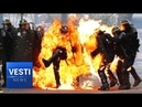 Pogroms in Paris! Frenchmen Take to the Streets in Disgust Macron's Days Look Numbered?