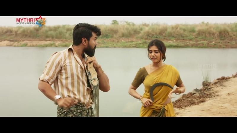 Samantha Dialogue Trailer - Rangasthalam Movie - Ram Charan - Pooja Hegde - Anasuya - Sukumar - DSP