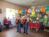 Братья Золотухины на Пасху в воскресной школе Николо-Владимирском соборе 2018 Свердловск