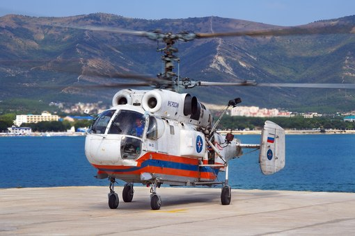 вертолёты соосной схемы.