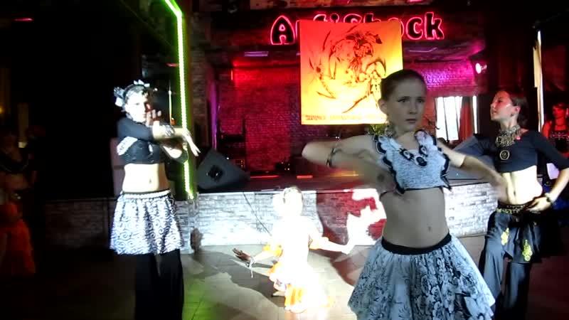 Трайбл детский, восточные танцы - Орион @ летняя вечеринка Созвездие 2015 (Севастополь)