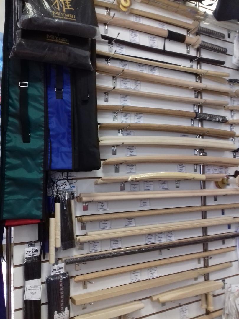 Тренировочное оружие для айкидо, иайдо, кендо, карате