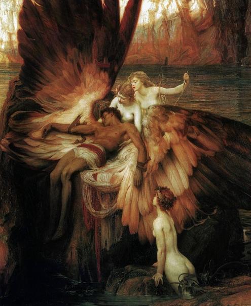 История одного шедевра. «Оплакивание Икара», Герберт Дрейпер