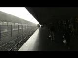 Дождик начался. Самый большой вокзал в Азии.
