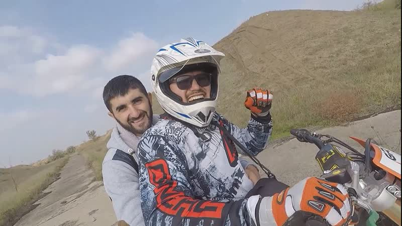Катаемся на мотоцикле GR1 F250A Enduro PRO | Ждите контент с ДРИФТА...
