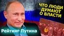 Рейтинг Путина Все против нас