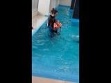 Занятие дельфинотерапией №1 за 06.02.2017 (5 часть)
