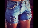 DIY - Customização Transforme sua calça Jeans velha em um SHORTS DIVO!