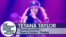 "Teyana Taylor - ""Gonna Love Me""/""Rose in Harlem"" for the Tonight Show audience"