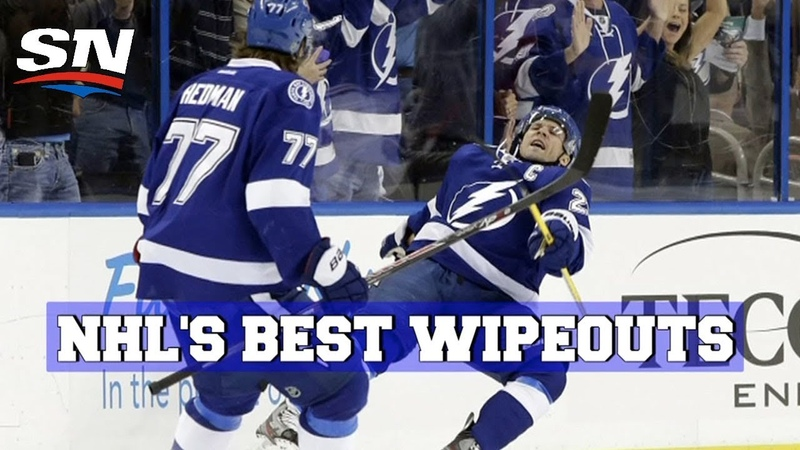 NHL's Best Wipeouts and Goalie Blunders