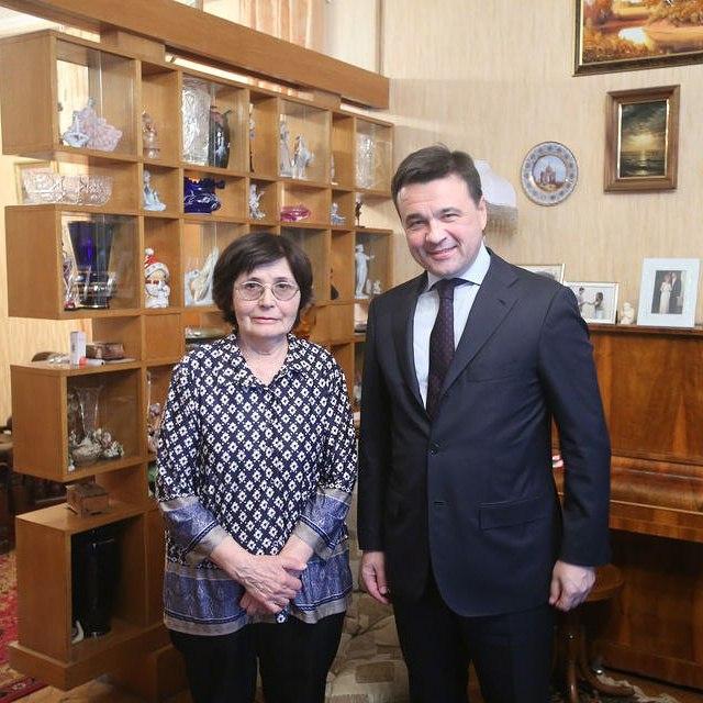 В Звездном городке в гостях у Валентины Ивановны Гагариной – вдовы нашего легендарного космонавта